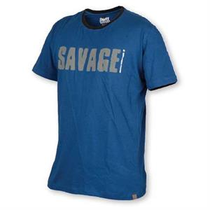 SAVAGE GEAR CAMISETA AZUL